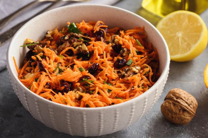 морковь чеснок