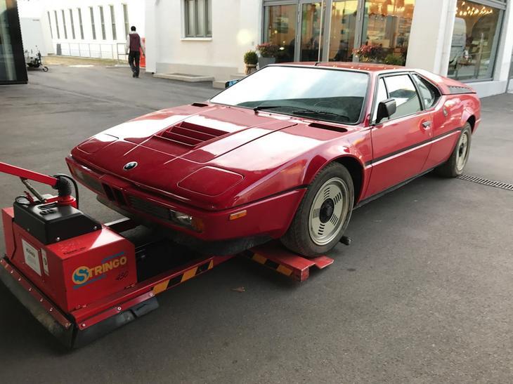 Скорее всего, эту машину очень скоро выставят на каком-то аукционе по заоблачной цене