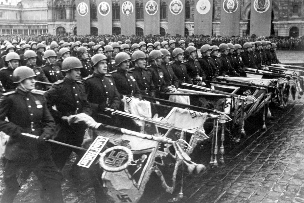 Парад Победы. Москва. 1945 год.