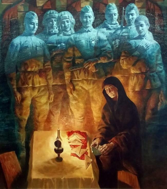 Великая Отечественная в живописи прошлого и настоящего: каноны, «табу», скрытые смыслы вов, живопись, искусство