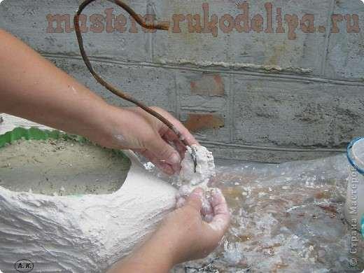 Мастер-класс: лебедь-кашпо, мастер класс лебедя из плёнки