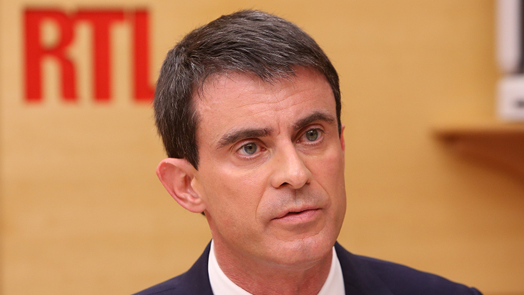Появилось видео, как кандидат в президенты Франции получил пощечину от избирателя