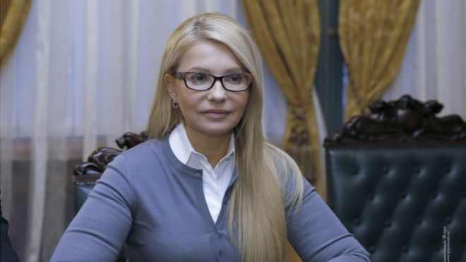 BBC: Тимошенко отловила Дональда Трампа около туалета в Вашингтоне
