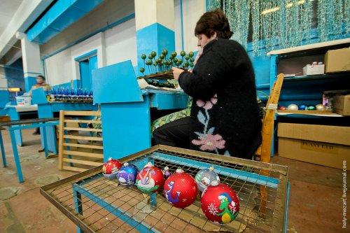 Фабрика елочных игрушек