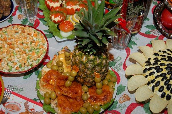 Рецепты для новогоднего стола в год Быка