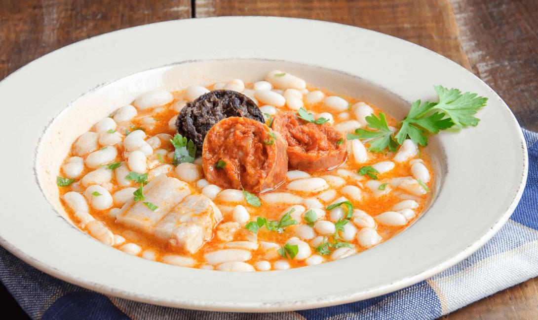 Сытный и  простой суп Астурийская Фабада