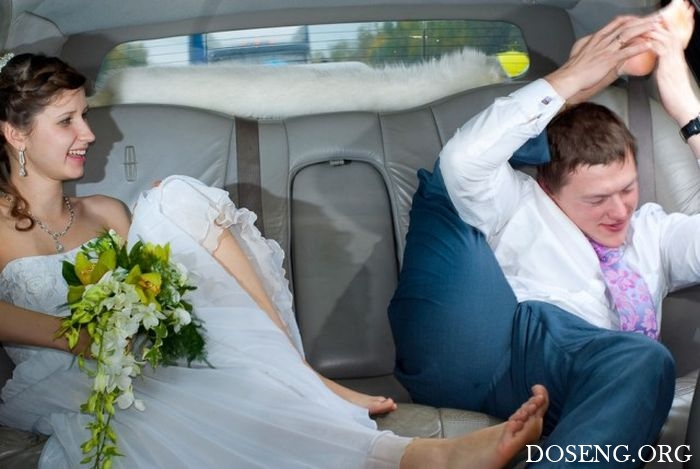 Типичные русские свадьбы в Электроуглях