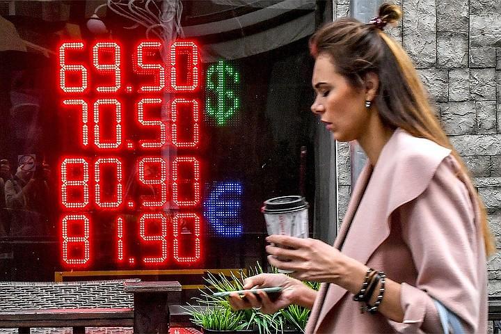 Курс рубля заметно укрепился в начале недели