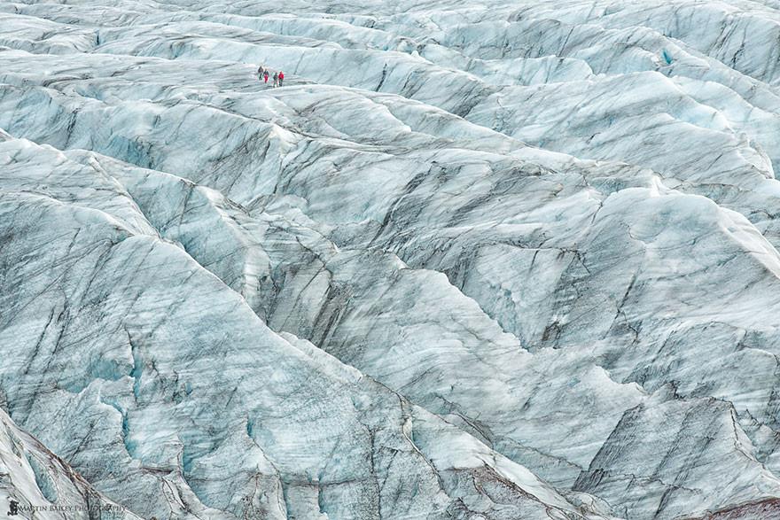 30. Ледник Скафтафетль, Исландия земля, красота, планета, природа
