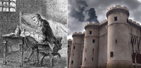 Этот день вистории: 1698 год— ВБастилию перевели «Железную маску»