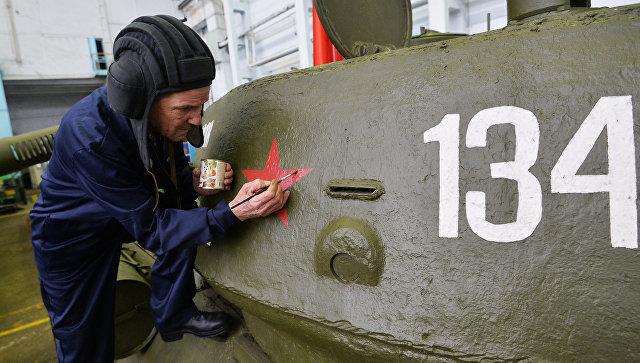 ПОЛЯКИ ЗАЩИТИЛИ ОТ СНОСА ПАМЯТНИК СОВЕТСКОМУ ТАНКУ Т-34