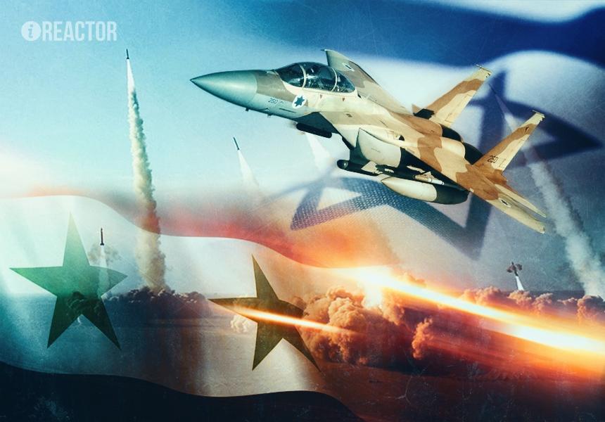 Авианалет ВВС Израиля на Дамаск — прощальный привет Асаду от Обамы