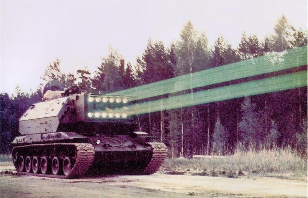 Российская армия получит ослепляющий световой меч