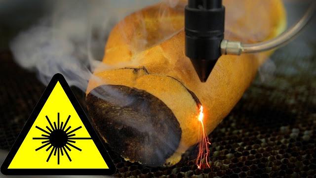 Можно ли поджарить тост с помощью лазерной установки
