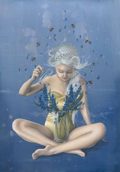 Волшебные цветы. Автор: Kari-Lise Alexander.