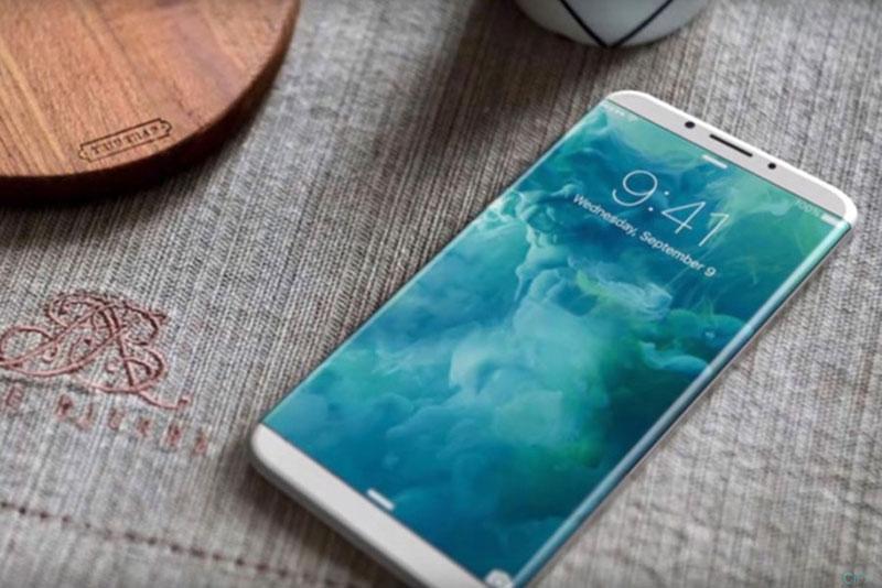 СМИ: iPhone 8 получит изогнутый дисплей и новую сенсорную технологию