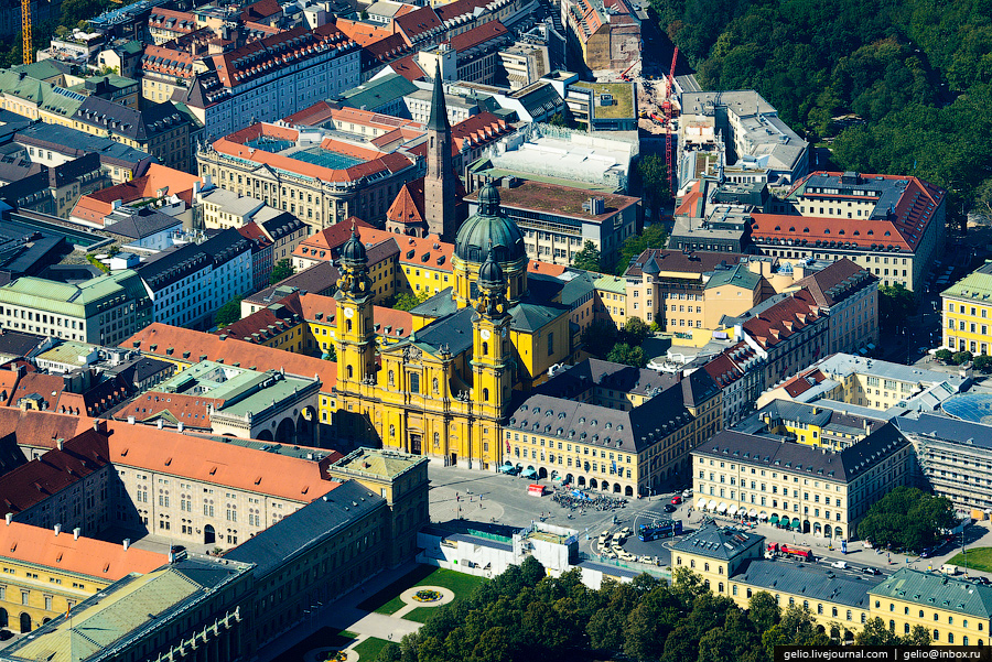 Munich from above