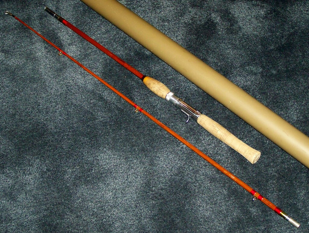 ловля на бамбуковую удочку