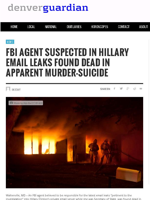 Хиллари зачищает: Ещё одна смерть