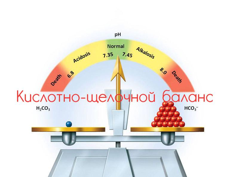 Кислотно-щелочной баланс: Список продуктов по уровню кислотности