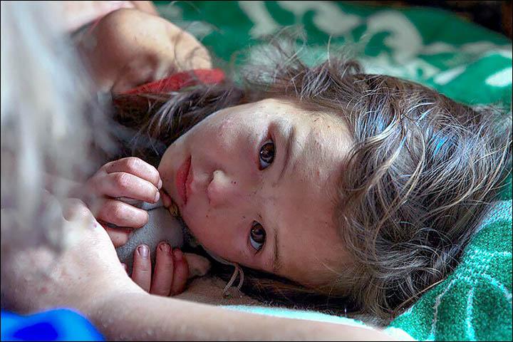 Четырехлетняя кроха затерялась в бескрайней тайге на 12 дней