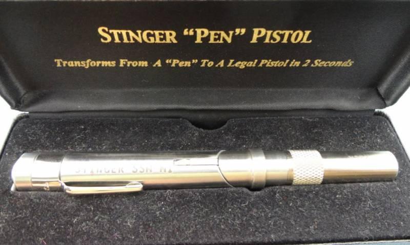 Необычные образцы оружия. Стреляющая ручка Stinger Pen Gun