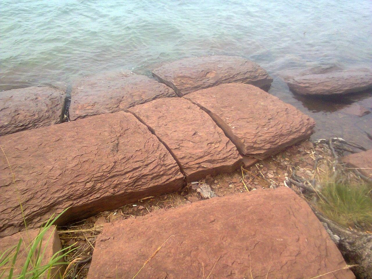 Плиты озера Шира. Хакасия