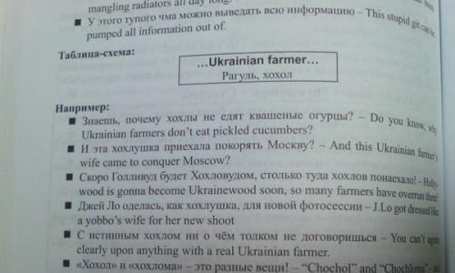 Во Львове нашли учебник по английскому языку со словом «хохол»