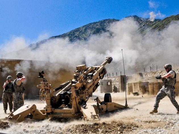 Американская артиллерия «выжжет» электронику противника