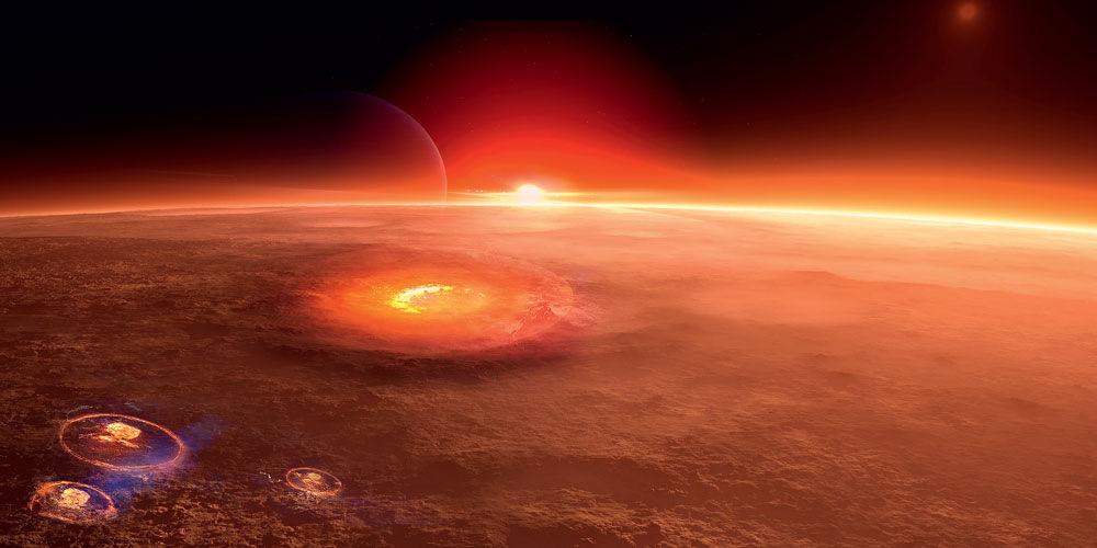 Илон Маск предложил сбросить ядерную бомбу на Марс