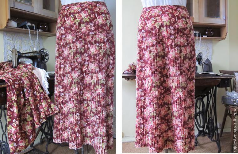 Шьем юбку мастер класс с фото #1
