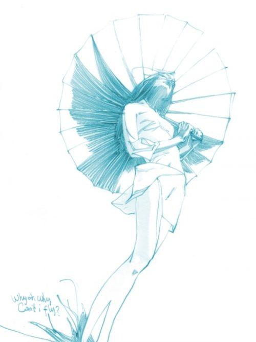 художник Zhang Weber графика – 10