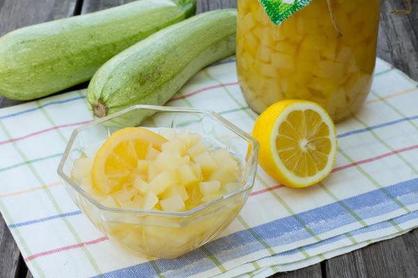 Рецепт кабачки под ананас