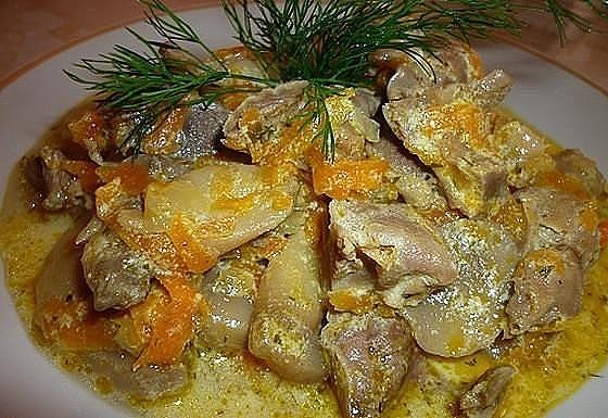 7 рецептов приготовления вкуснейших куриных желудков. Очень дешево и очень вкусно!!!