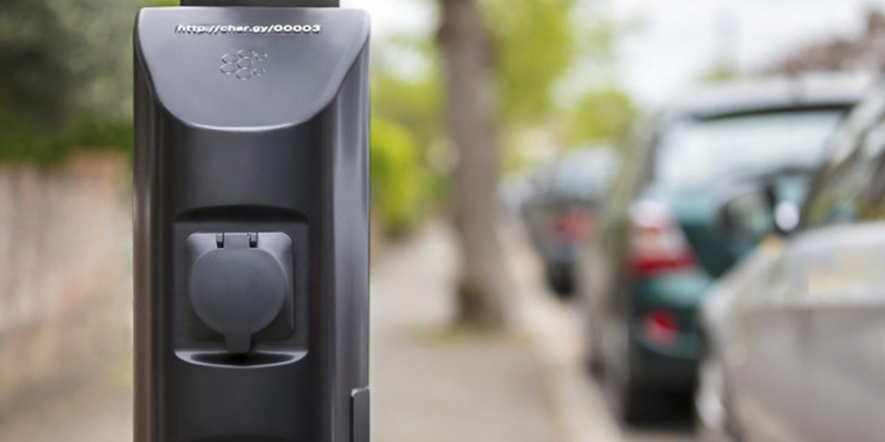 Устройство Char.gy превратит любой столб в зарядку для электромобиля
