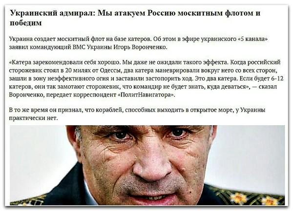Москитный флот Украины