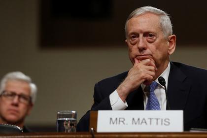 Сенат утвердил Мэттиса в должности министра обороны США