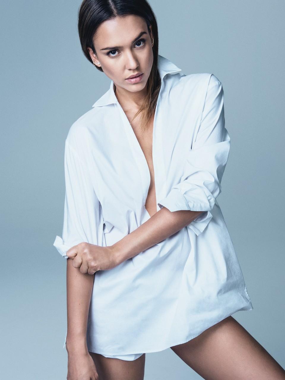 Джессика Альба  в фотосессии Себастьяна Кима  для журнала Glamour (июнь 2014)