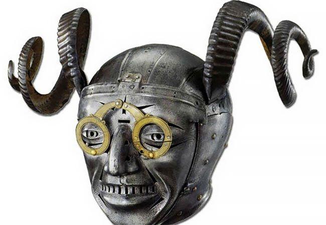 Рогатый шлем короля Генриха …