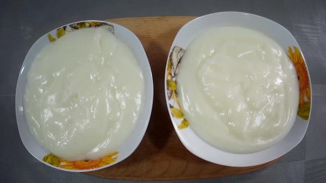 Фото к рецепту: Молочный кисель за 10 минут