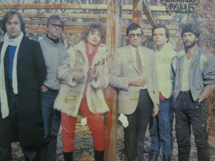 Группа *Электроклуб*, 1986 | Фото: gnti.ru