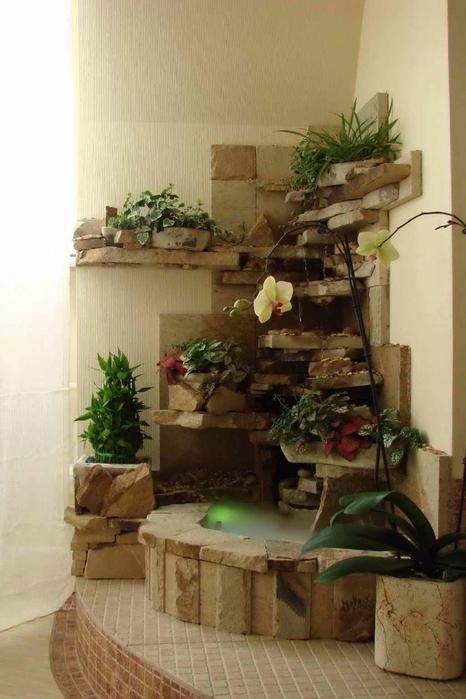 Как сделать фонтан для квартиры своими 738