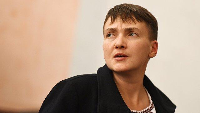 В Раде предложили лишить Савченко доступа к гостайне