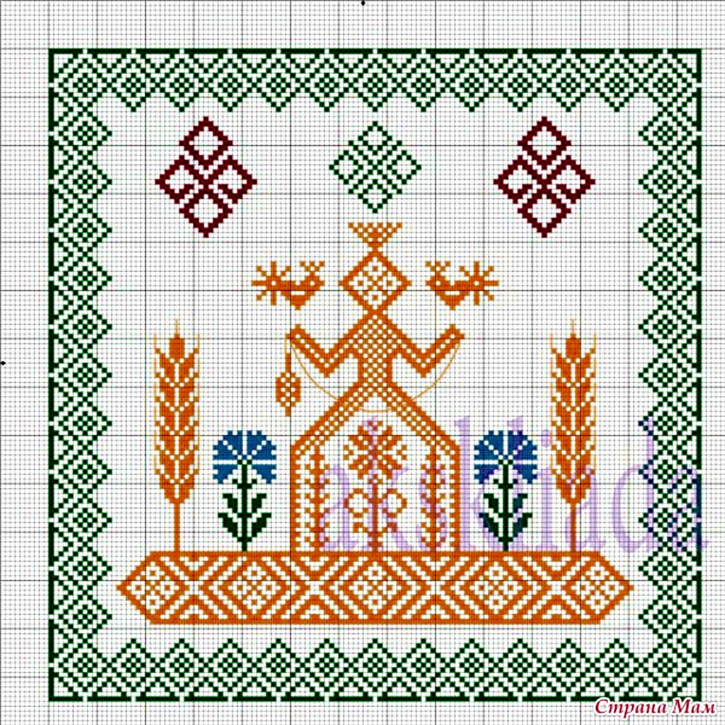 Славянская вышивка как вышивать