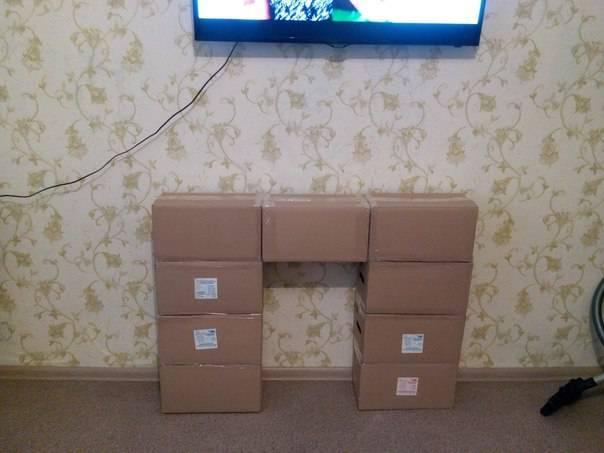 Коробки из картона декоративные своими руками