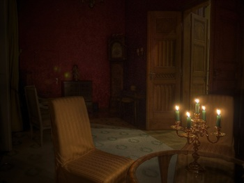 Камера сняла «привидение» в старинном английском особняке