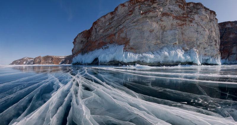 Тонкие струны Байкала или 400 км на коньках