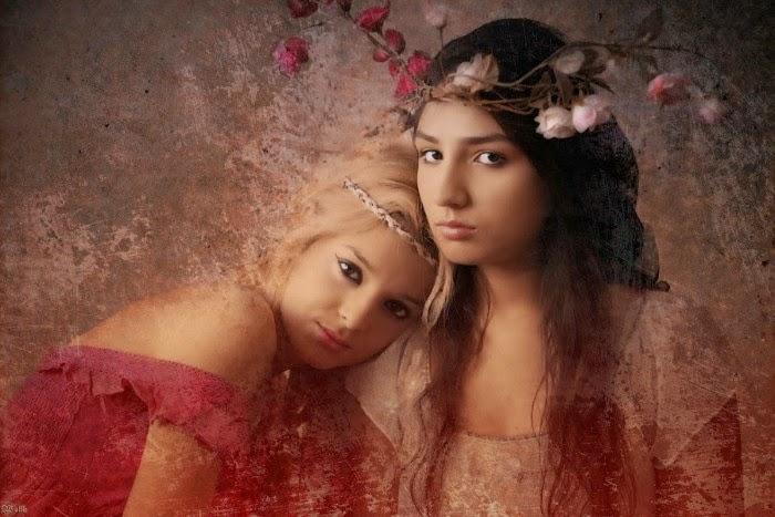 Красота женщин: потрясающие фотоиллюстрации, так похожие на картины