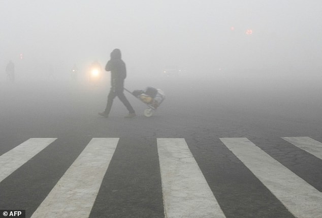 Китай закрывает заводы и прекращает строительство дорог из-за страшного смога