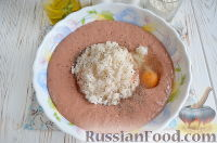 Фото приготовления рецепта: Экономные котлеты из печени и риса - шаг №3